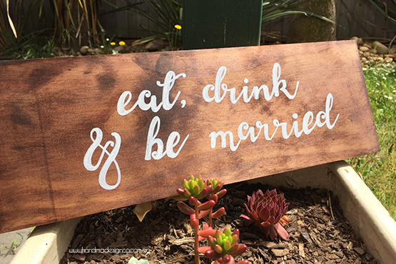 eat, drink and be marries